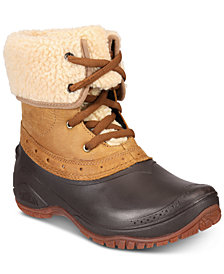 The North Face Women's Shellista Cuffed Winter Boots