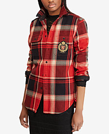 Polo Ralph Lauren Plaid Crest Cotton Shirt