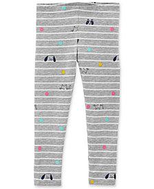 Carter's Toddler Girls Striped Animal-Print Leggings