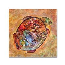 Oxana Ziaka 'Turtle' Canvas Art Collection