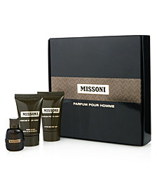 Receive a complimentary Missoni 3-pc. gift with any large spray from the Missoni Fragrance Collection