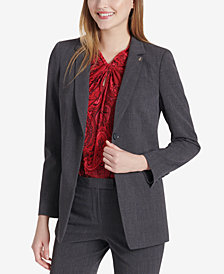 Tommy Hilfiger Single-Button Blazer