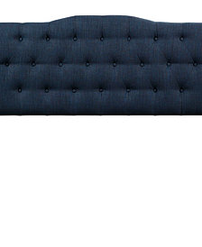Annabel Queen Upholstered Fabric Headboard