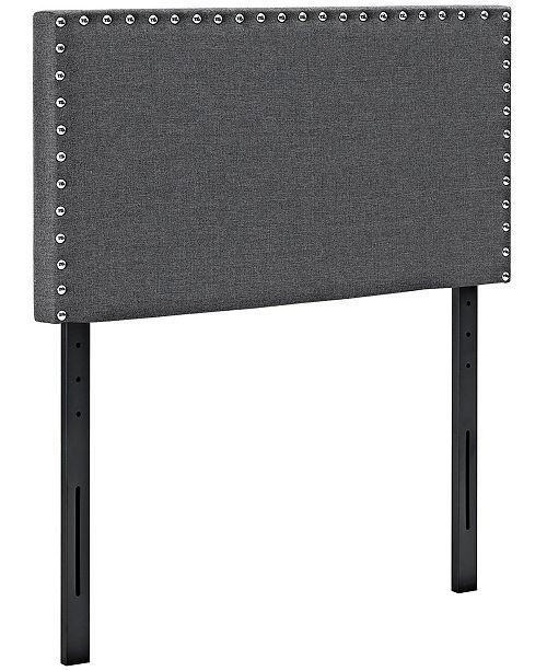 Modway Phoebe Twin Upholstered Fabric Headboard
