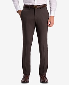 Men's Slim-Fit Shadow Check Dress Pants