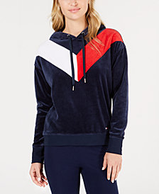 Tommy Hilfiger Sport Velour Hoodie, Created for Macy's