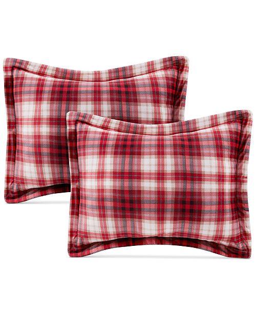 JLA Home  CLOSEOUT! Premier Comfort Reversible Sherpa 4-Pc. Standard/Queen Pillow & Sham Set