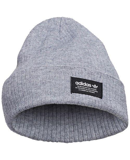 053a6d8f8e7 adidas Ribbed Beanie   Reviews - Women s Brands - Women - Macy s