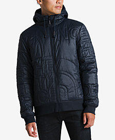 The North Face Men's Alphabet City Quilted Logo Hooded Jacket