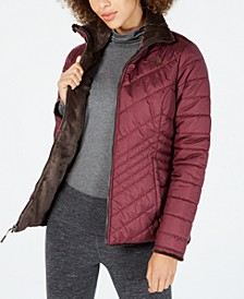 Women's Mossbud Fleece-Lined Reversible Jacket