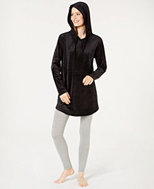 Alfani Velvet Tunic Pajama Top, Created for Macy's