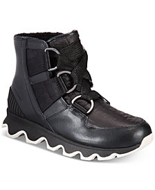 Sorel Women's Kinetic Short Lace Waterproof Boots