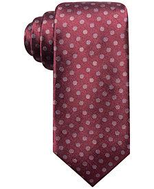 Ryan Seacrest Distinction™ Men's Dozza Dot Slim Silk Tie, Created for Macy's