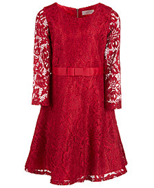 Us Angels Big Girls Glitter Lace Dress