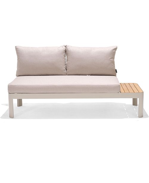 Modern Tropic Teak Outdoor Sofa, Created For Macy\'s