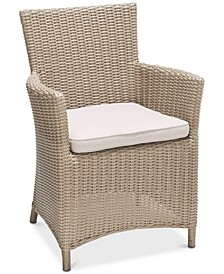 San Andres Outdoor Dining Chair, Created for Macy's