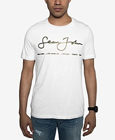 Men's Signature Script T-Shirt, Created for Macy's