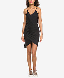 Roxy Juniors' Bali Bowl Ruched Slip Dress