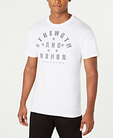 Sean John Men's Strength & Honor Studded Graphic T-Shirt