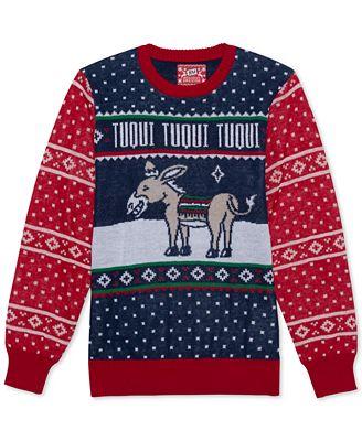 Hybrid Tuqui Mens Holiday Sweater Sweaters Men Macys