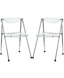 Telescope Dining Chairs Set of 2