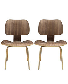 Modway Fathom Dining Chairs Set of 2
