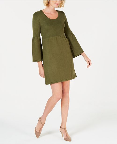 Ny Collection Empire Waist Sweater Dress Dresses S