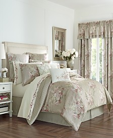 Royal Court Eleanor Natural Queen Comforter Set