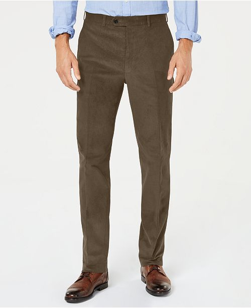 Lauren Ralph Lauren Men's Classic-Fit Stretch Corduroy Dress Pants