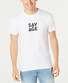 American Rag Men's Savage Graphic Print T-Shirt, Created for Macy's