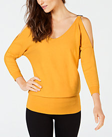 Thalia Sodi Dolman Split-Sleeve Sweater, Created for Macy's