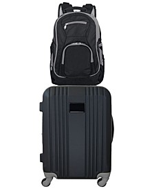"21"" Carry-On Hardcase Spinner Luggage & Laptop Backpack Set"