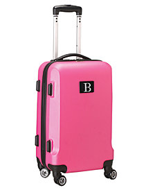 "21"" Carry-On Hardcase Spinner Luggage - 100% ABS With Letter B"