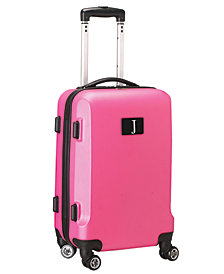 "21"" Carry-On Hardcase Spinner Luggage - 100% ABS With Letter J"