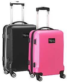 Mojo Licensing Hers & Hers 21 Inch Luggage Set