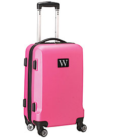 Luggage Carry-On 21-Inch Hardcase Spinner 100% Abs With Letter O
