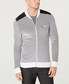 I.N.C. Men's Daily Mix Full Zip Sweater, Created for Macy's