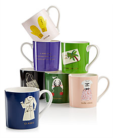 kate spade new york Things We Love Mug Collection