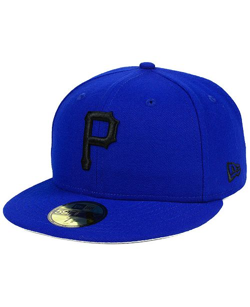 buy popular 0b6d4 7e08b ... New Era Pittsburgh Pirates Reverse C-Dub 59FIFTY FITTED Cap ...