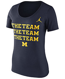 Nike Women's Michigan Wolverines Scoop Local T-Shirt