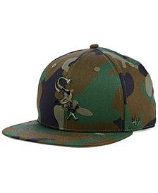 '47 Brand Chicago White Sox Camo Snapback Cap