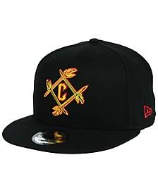 New Era Cleveland Cavaliers Combo Logo 9FIFTY Snapback Cap