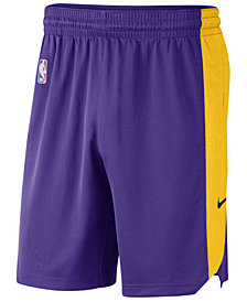 Nike Men's Los Angeles Lakers Practice Shorts
