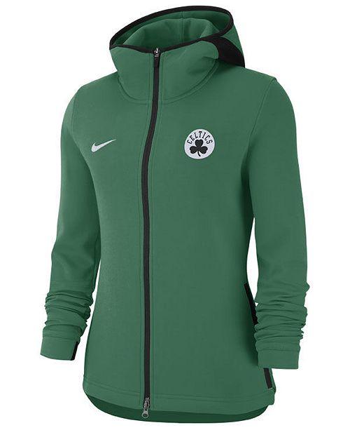 e67a46aa9 Nike Women s Boston Celtics Showtime Full-Zip Hoodie - Sports Fan ...