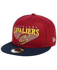 New Era Cleveland Cavaliers Retro Triangle 9FIFTY Snapback Cap