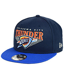 New Era Oklahoma City Thunder Retro Triangle 9FIFTY Snapback Cap