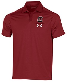 Under Armour Men's South Carolina Gamecocks Pinnacle Polo