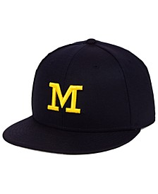 Michigan Wolverines True Wool Fitted Cap