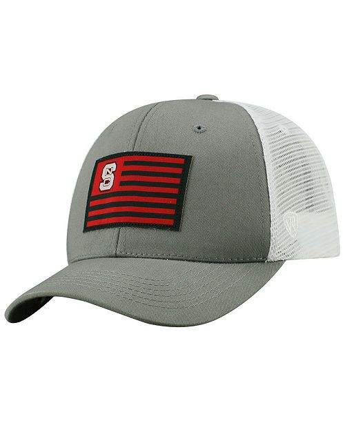 newest collection 9279e 3a7e4 ... Top of the World North Carolina State Wolfpack Brave Trucker Snapback  Cap ...
