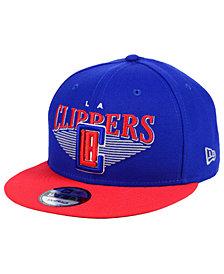 New Era Los Angeles Clippers Retro Triangle 9FIFTY Snapback Cap